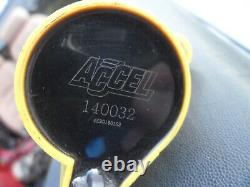 (8) Ford Mustang F-150 4.6 5.4 2V V8 Accel 140032 Yellow Super Coil Pack On Plug