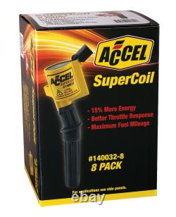 ACCEL 140032-8 SuperCoil Direct Ignition Coil Set