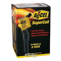 ACCEL 140032-8 SuperCoil Direct Ignition Coil Set Brand new