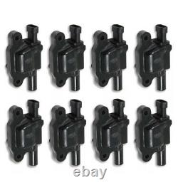 ACCEL 140043K-8 Ignition Coil SuperCoil -GM LS2, LS3 and LS7 Black Set Of 8
