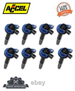 ACCEL 140060B-8 SuperCoil Direct Ignition Coil Set Fits 11-16 F-150 Mustang