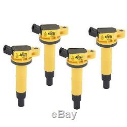 ACCEL 140333-4 Ignition Coil, SuperCoil, Fits Toyota, 2.4L-I4, 4-Pack