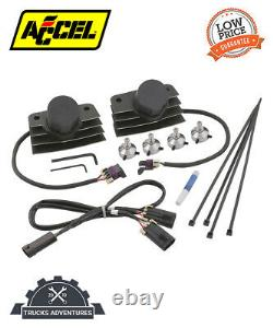 ACCEL 140411BI Stealth SuperCoil Motorcycle Direct Ignition Coil Kit