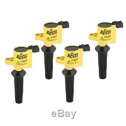 ACCEL 140505-4 Ignition Coil, SuperCoil, Mazda 2.0/2.3L-I4, 4-Pack