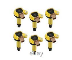 ACCEL 140646-6 Ignition Coil SuperCoil -2010-2016 Ford EcoBoost 3.5L V6-Yellow