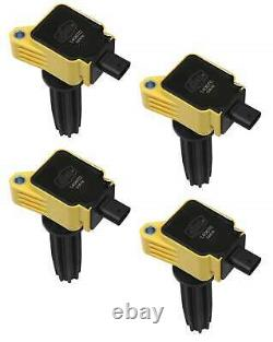 ACCEL Ignition Coil-SuperCoil 12-17 Ford EcoBoost 2.0L/2.3L-L4-Yellow-140670-4