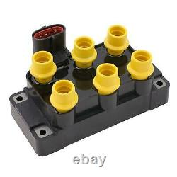 ACCEL Ignition Coil SuperCoil Ford 6-Tower EDIS with vertical plug 140036