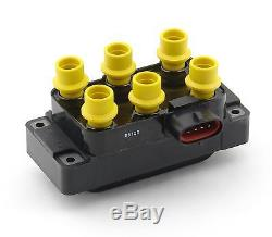 ACCEL Ignition Coil Super Coil EDIS Horizontal Harness Connector Ford V6 Each