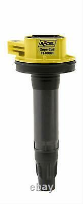 ACCEL Ignition Coil Super Socket Round Black/Yellow Ford Lincoln Mercury Each