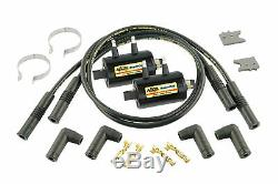 ACCEL Motorcycle 140403K Ignition Coil Kit Universal Super Coil 4-Cylinde