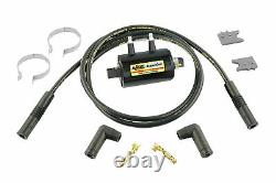 ACCEL Motorcycle 140404KS Ignition Coil Kit Universal Super Coil 2-Cylind