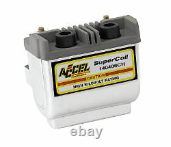 ACCEL Motorcycle 140406CH CHROME SUPER COIL-POINTS