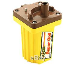 Accel 140001 Ignition Coil, Super Coil, Canister, Rectangle, Oil-Filled, Yellowith