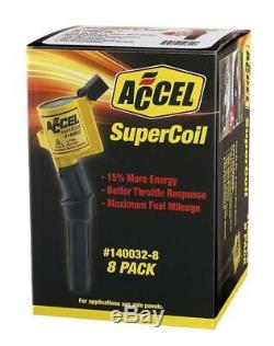 Accel 140032-8 Ignition Supercoil Set (Pack Of 8)