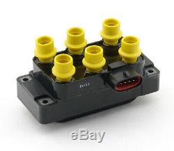 Accel 140035 Ignition Super Coil Pack. 5ohm Female 35000V 6-T Horizontal
