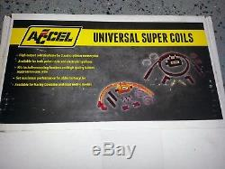 Accel 140403 Super Coil Kit, 4 Cylinder Inductive Discharge KZ GS CB XS