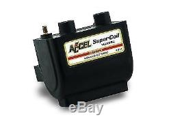 Accel 140407BK Super Coil for Harley Davidson FL Twin Cam with Electric Ignition