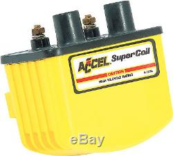 Accel 140408 Single Fire Super Coil Yellow