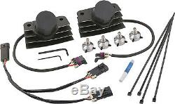 Accel Black Finish Stealth Supercoil Super Coil for Harley Touring'02-'08
