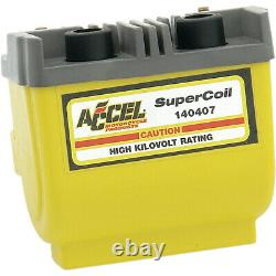 Accel Dual-Fire Super Coil Harley Davidson Yellow 140407