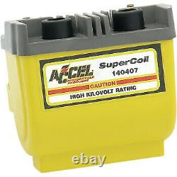 Accel Dual-Fire Super Coil for Harley Davidson Yellow 140407