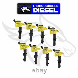 Accel IGNITION COIL SUPERCOIL FORD 3 VALVE MODULAR ENGINE 4.6/5.4/6.8L 8 PACK