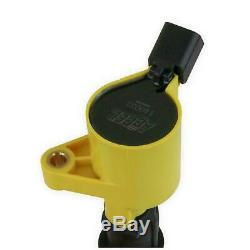 Accel Ignition Coil 140032-8 Super Coil Yellow Coil-On-Plug for Ford 4.6 5.4L