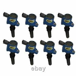 Accel Prestolite 140032B-8 SuperCoil Ignition Coil Blue (8-Pack) NEW