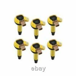 Accel Prestolite 140646-6 SuperCoil Ignition Coil 3-Pin Yellow (6-Pack) NEW