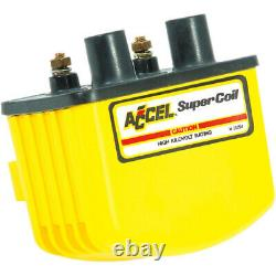 Accel Single-Fire Super Coil Harley Davidson Yellow 140408