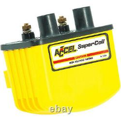 Accel Single-Fire Super Coil for Harley Davidson Yellow 140408