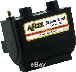 Accel Super Coil for 140407BK Harley Davidson with Electronic Ignition