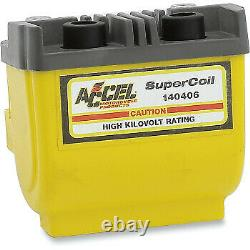 Accel Super Coil for Harley Davidson Yellow 140406
