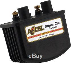 Black HEI Super Coil Kit for Single-Fire withElec Ignition 3.0 ohm 140408BK
