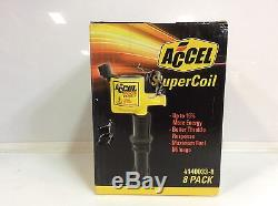 (Closeout) ACCEL 140033-8 Ignition SuperCoil Set