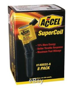 Direct Ignition Coil Kit-SuperCoil Direct Ignition Coil Set Accel 140032-8