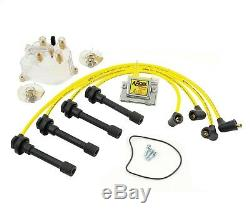 Distributor Cap/Rotor/Coil/Spark Plug Wires Kit-Super Ignition Tune-Up Kit Accel