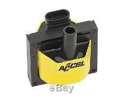 Ignition Coil-HEI Remote Mount Super Coil ACCEL 140024ACC