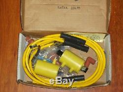 NOS Accel Super Coils for Point Ignition 4 cylinder Motorcycles. Hon Yam Suz Kaw