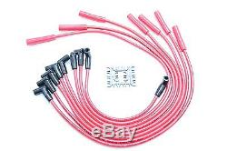 Red HEI Distributor Coil 8.5mm Spark Plug Wires Oldsmobile 330 350 400 425 455