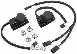 STEALTH SUPERCOIL BLACK FUEL INJECTED SOFTAIL Accel 140411BI