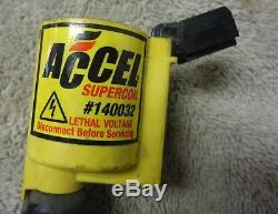 Super Coil Accel 140032 x 8 4.6 2 Valve 99-04 Ford Mustang GT 1998-2008 F150