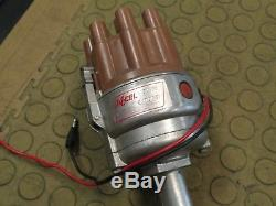 Vintage Accel Dual Point Distributor SBC/BBC with Ignition Super Coil 37100